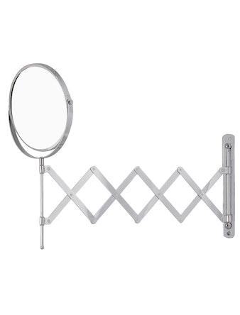 Зеркало косметическое настенное 502-90, хром