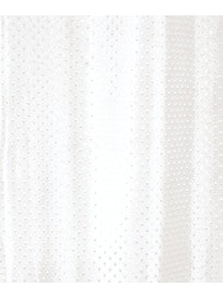 SUIHKUVERHO DUSCHY STAR 180X200CM VALKOINEN TEKSTIILI