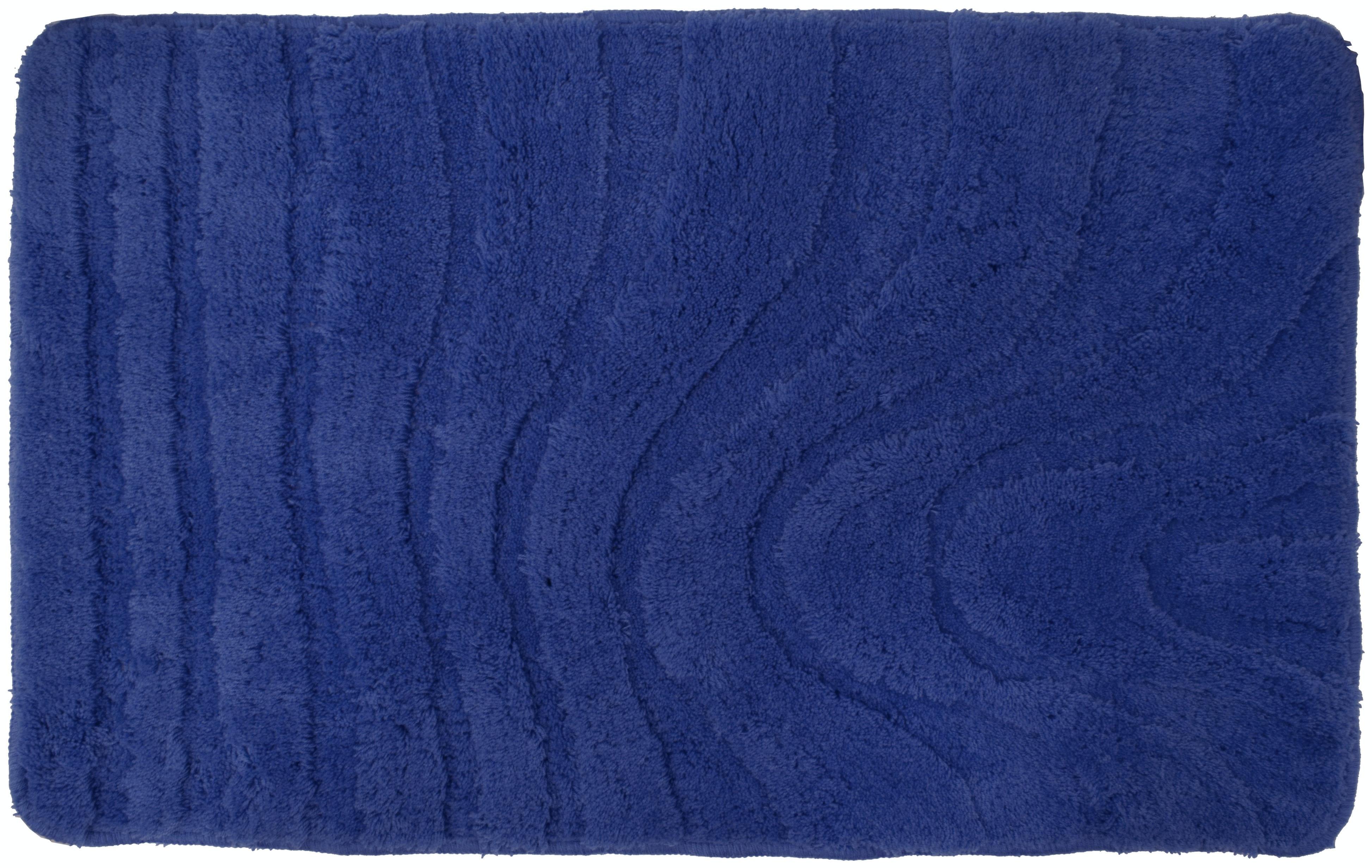 Badrumsmatta Duschy Honolulu Poly. 80X50 Blå