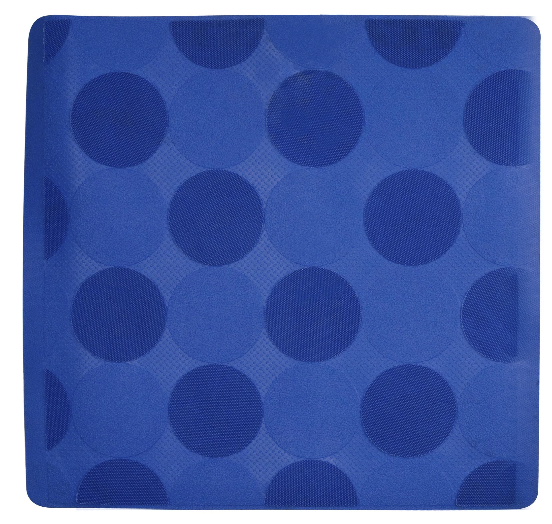 Halkmatta Duschy Blå 50x50 cm