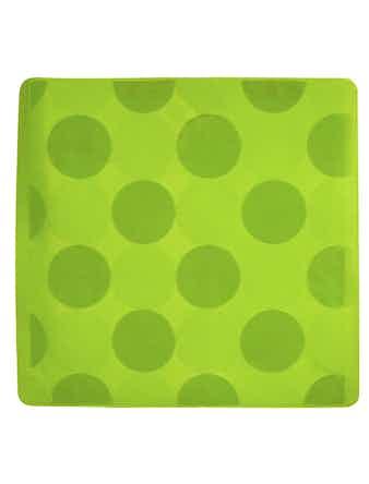Halkmatta Duschy Lime 50x50 cm