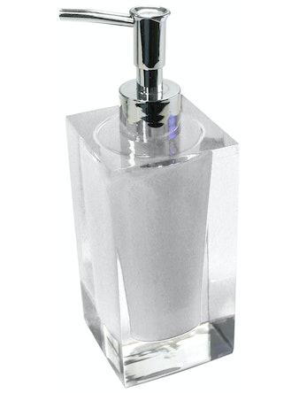 Tvålpump Duschy Diamond vit 994-10
