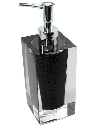 Tvålpump Duschy Diamond svart