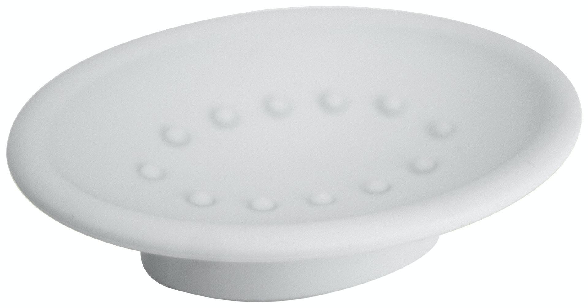 Tvålkopp Duschy Belizza 998-10 enkel vit