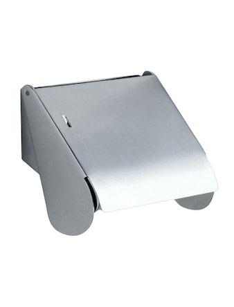 Toalettpappershållare Beslagsboden B440KM Väggmonterad Mattborstad Krom