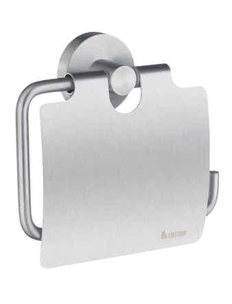 Toalettpappershållare Smedbo Home HS3414 Väggmonterad Mattborstad Krom