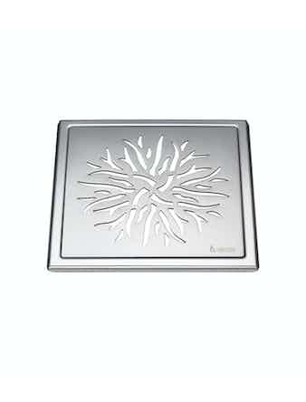 Golvbrunnssil Smedbo Outline FK504 krona rostfritt stål