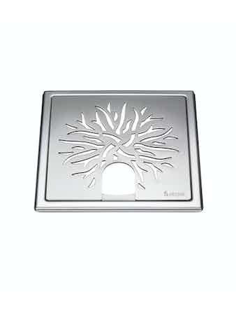 Golvbrunnssil Smedbo Outline FK505 för badkar krona rostfritt stål