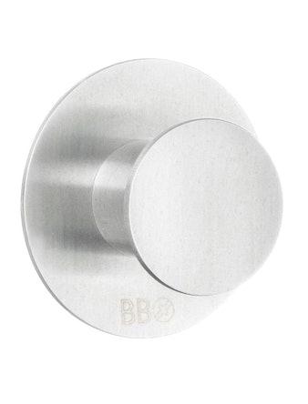 Krok Beslagsboden B1111 enkel rund rostfritt stål
