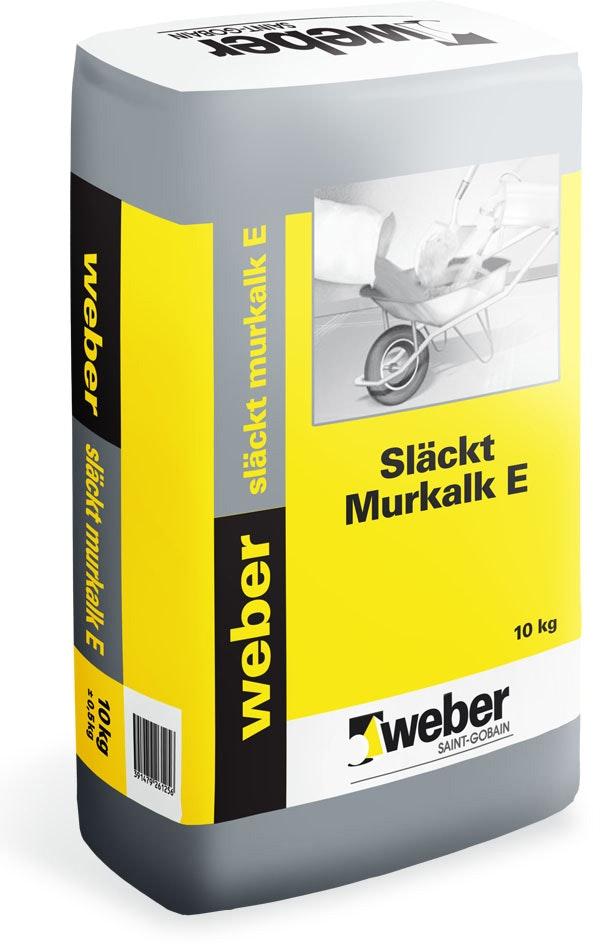 Murkalk Weber Saint-Gobain Släckt E 10Kg