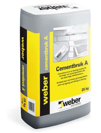 Cementbruk Weber Saint-Gobain A 25Kg