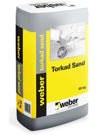 Torkad sand Weber Saint-Gobain 25Kg