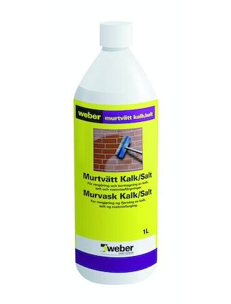 Murtvätt Weber Saint-Gobain Kalk/Salt 1L