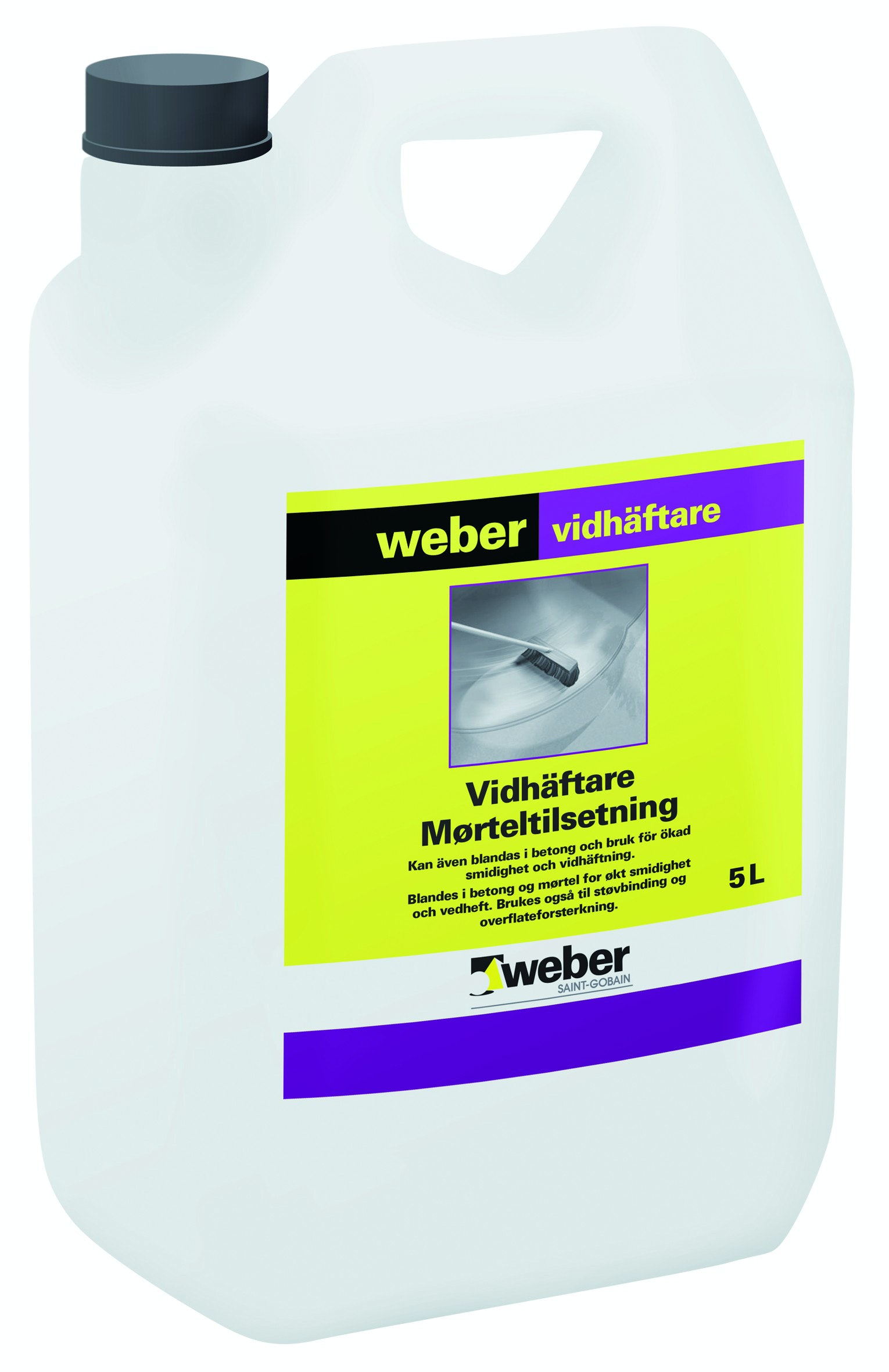 Vidhäftare Weber Saint-Gobain 5L