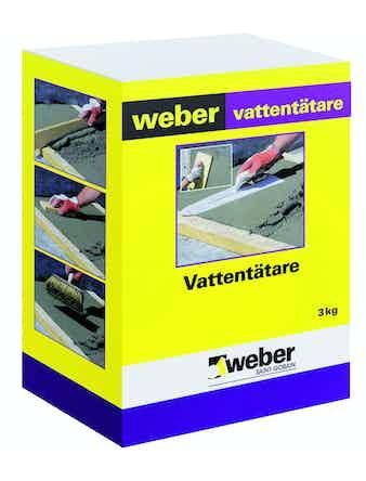 Vattentätare Weber Saint-Gobain 3Kg