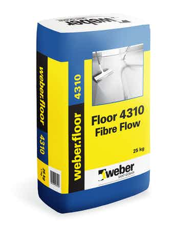 Floor Weber Saint-Gobain 4310 Fibre Flow 25Kg