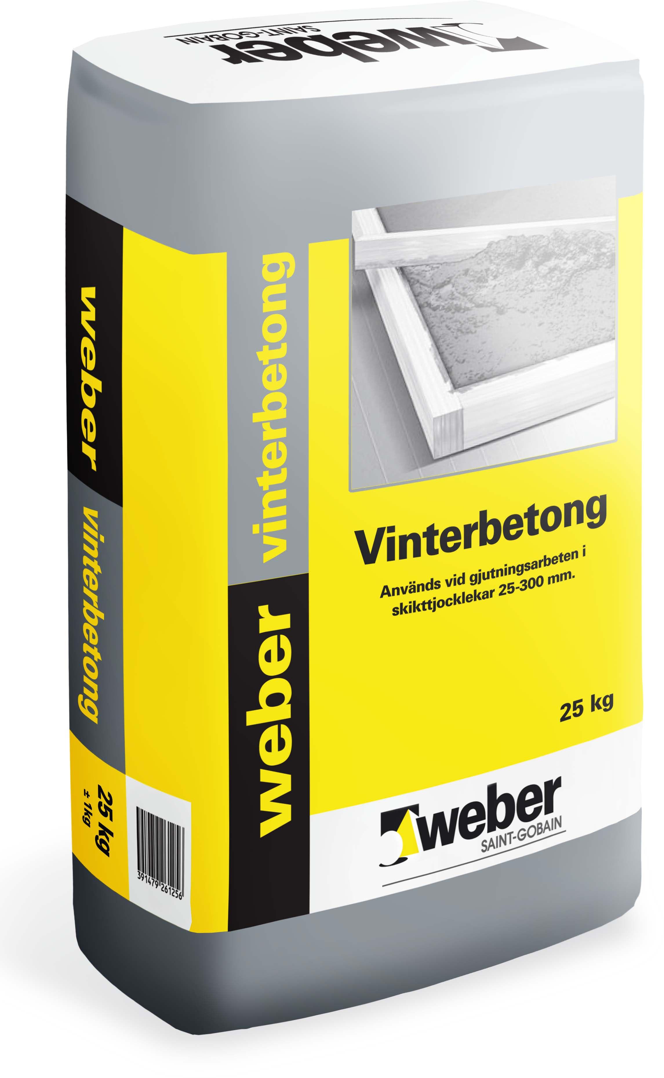 Vinterbetong Weber Saint-Gobain 25Kg