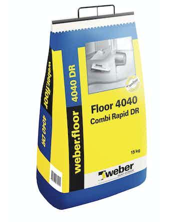 Floor Weber Saint-Gobain 4040 Combi Rapid DR