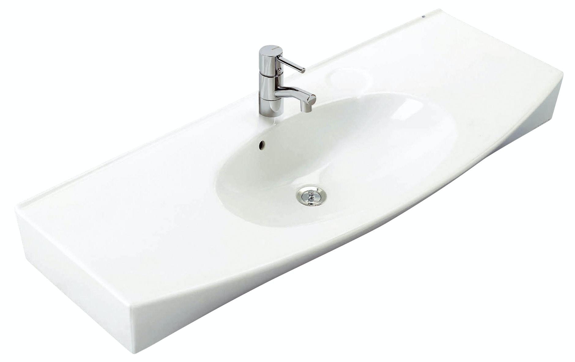 Tvättställ Ifö Caprice 2152 Vit 115cm