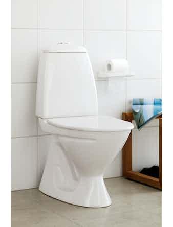 WC-Stol IFÖ Cera 3860 S-Lås Vit M. Mjuksits