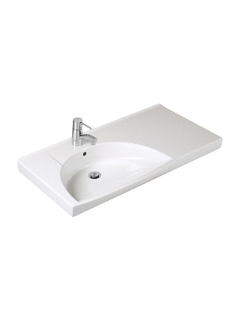 Tvättställ Ifö Sign Vit Vänster