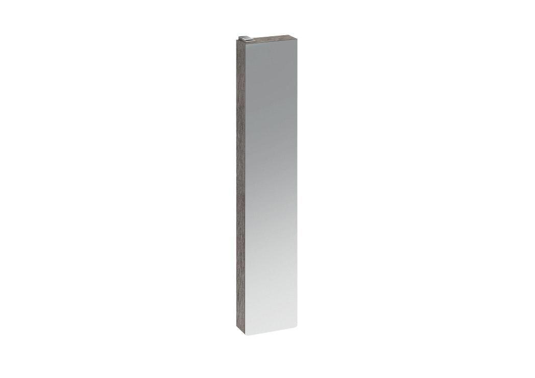 Väggskåp Ifö 42749 Hög Silva Ljusgrå Med Förvaring Och Spegel