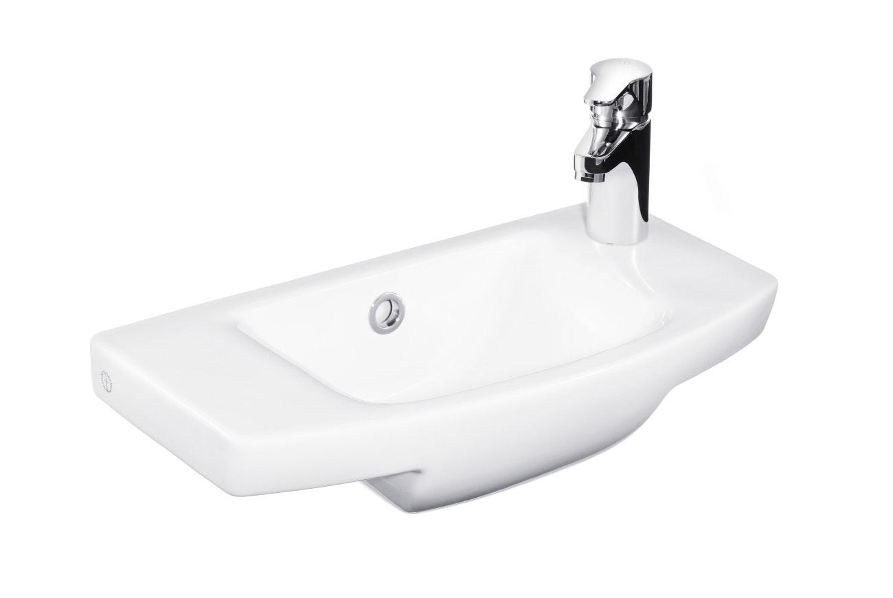 Tvättställ Gustavsberg Logic Vit 500X270 Höger