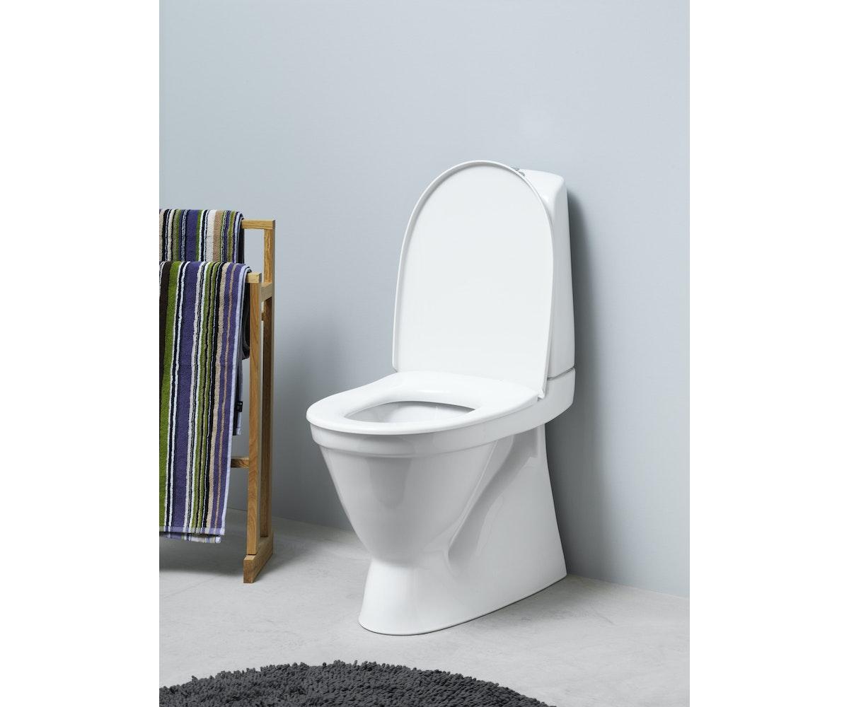 Inredning toalettstol ido : Wc-stol Gustavsberg Nautic 5500 vit | K-rauta.se