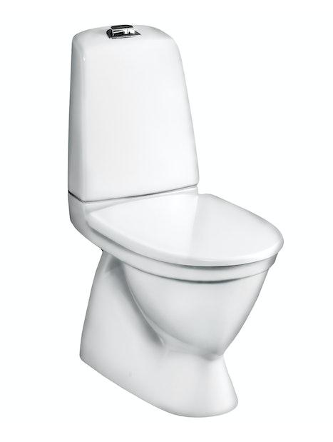 WC-ISTUIN GUSTAVSBERG NAUTIC 1500HF PERUSKORJAUS 2-T ILMAN KANTTA GB111500201205