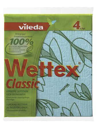 Städduk Vileda Svamp Wettex Classic 4-Pack 127102