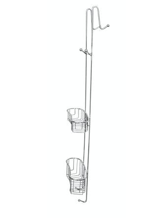 Hylla dusch Demerx Kabina för böjd glasdörr krom