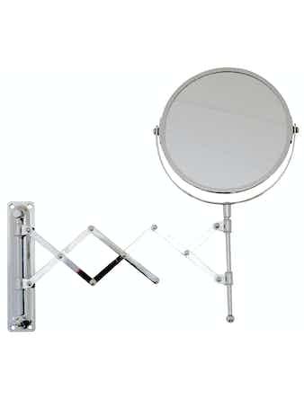 Spegel Demerx Rak-/Nack Utdragbar Modell Krom