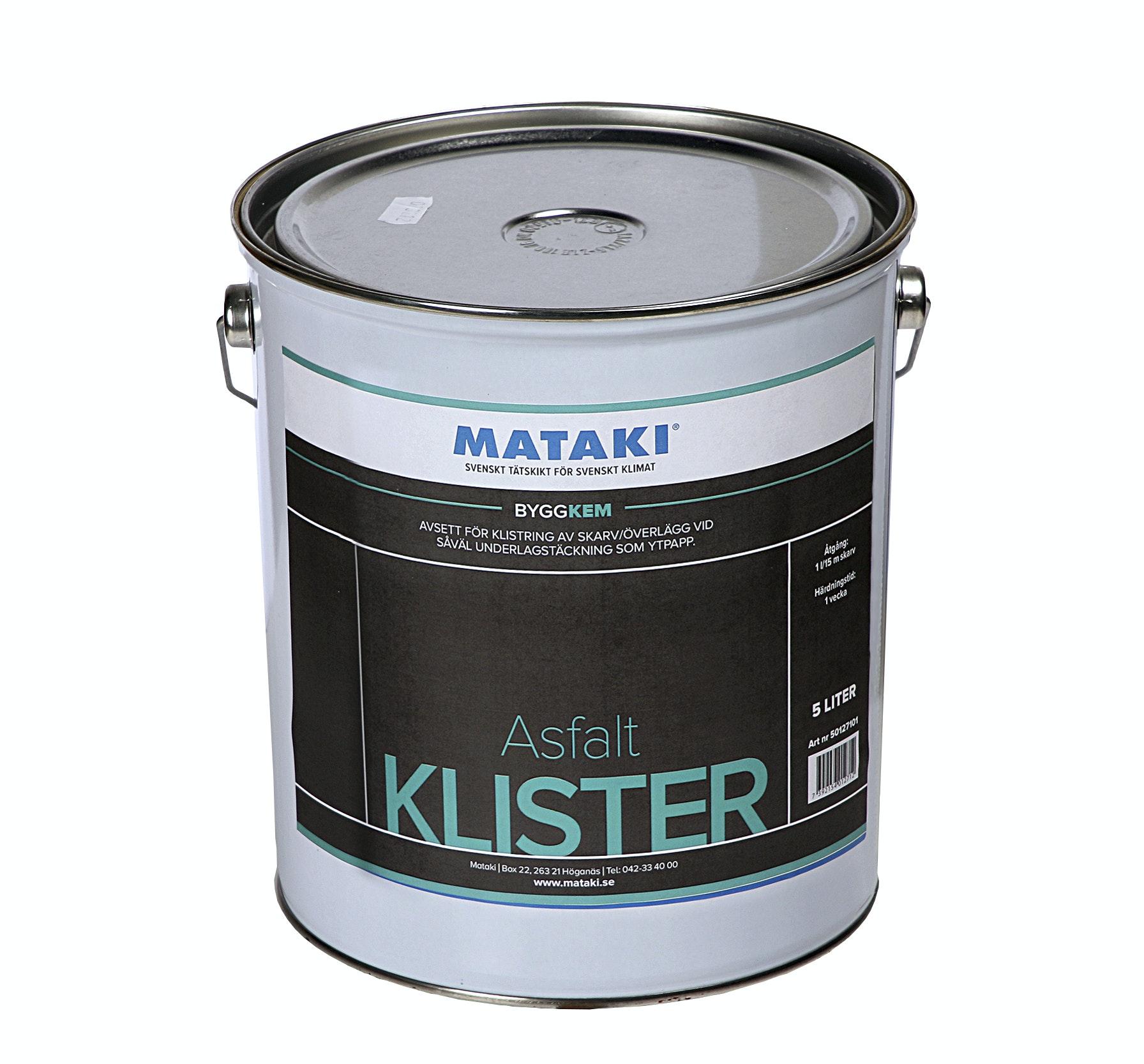 Asfaltsklister Mataki 5 liter