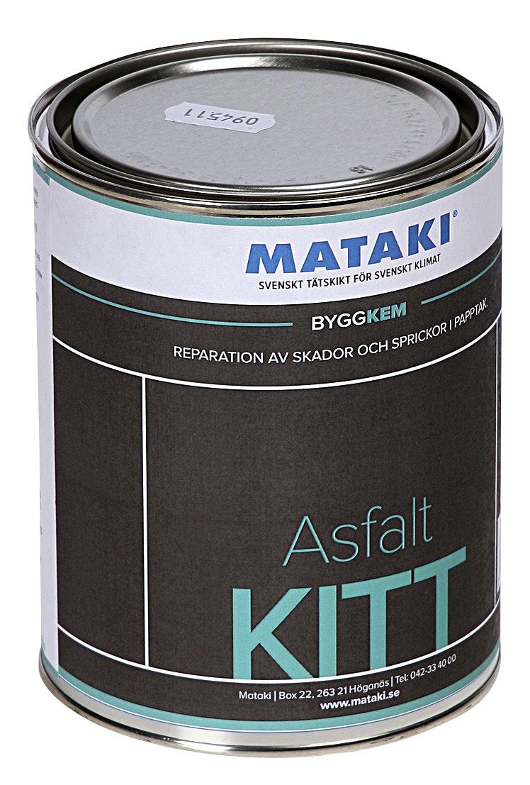 Asfaltkitt Mataki 1 liter