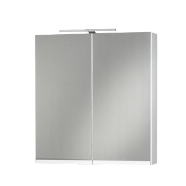 Spegelskåp Motion Sq 600 Svart