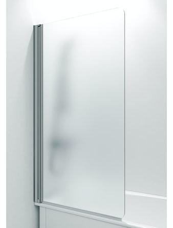 Skärmvägg Svedbergs 671487 för badkar klarglas aluminium 1400x800mm