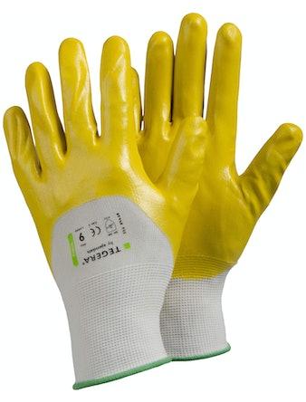 Handskar Tegera Nitrildoppad Stl 9