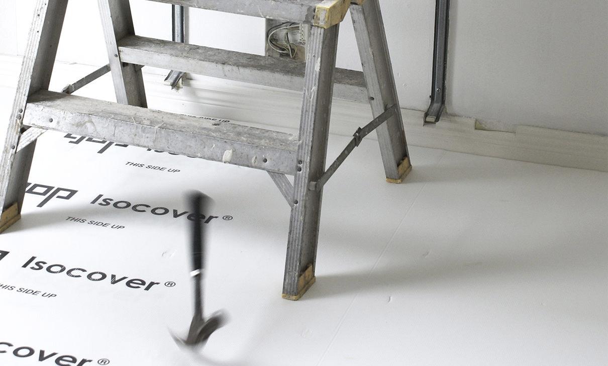 Skyddsplast Gop Isocover Vit 1220X2440mm