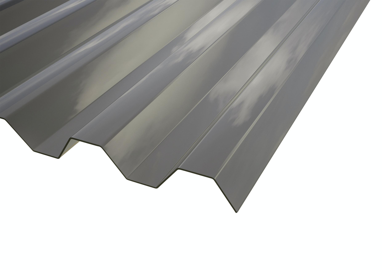 Plasttak Gop Suntuf Rök 76/16 1260X4000mm