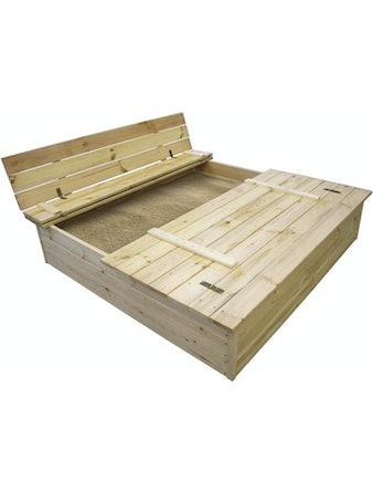 Sandlåda Jabo Med Bänk 0,6 m2 140X140cm 3302