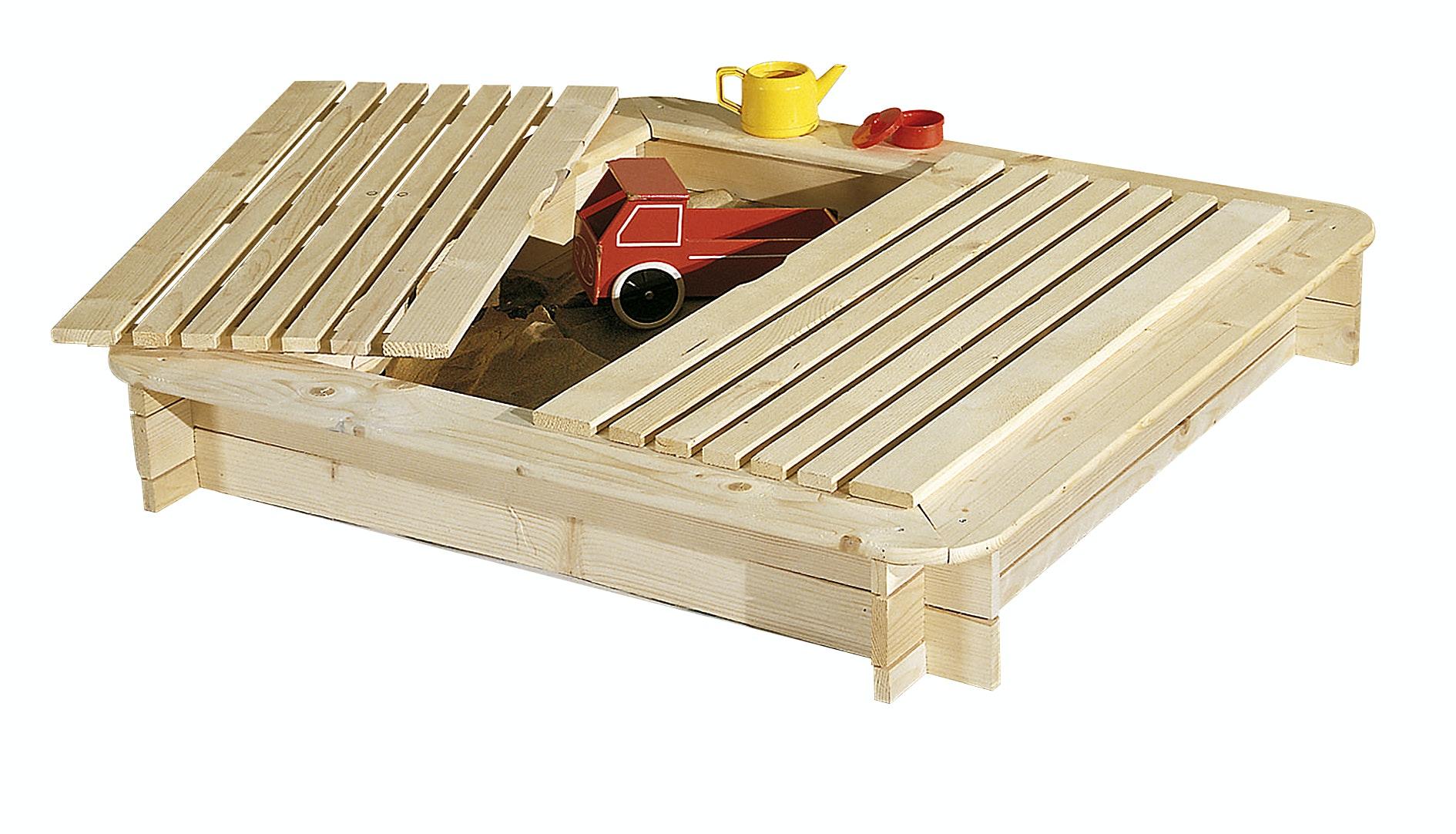 Sandlåda Jabo Med Lock 120X120cm