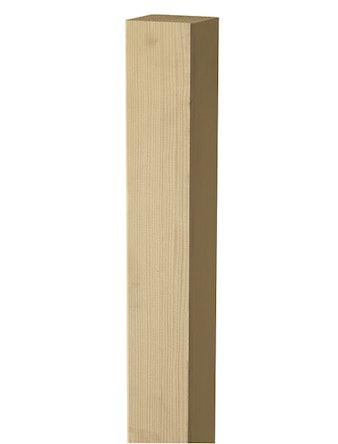 Stolpe Oljad Ask 70x70 H:180cm