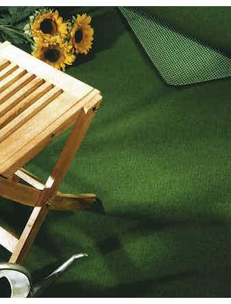 Konstgräs Grön Slät Bredd 200 cm