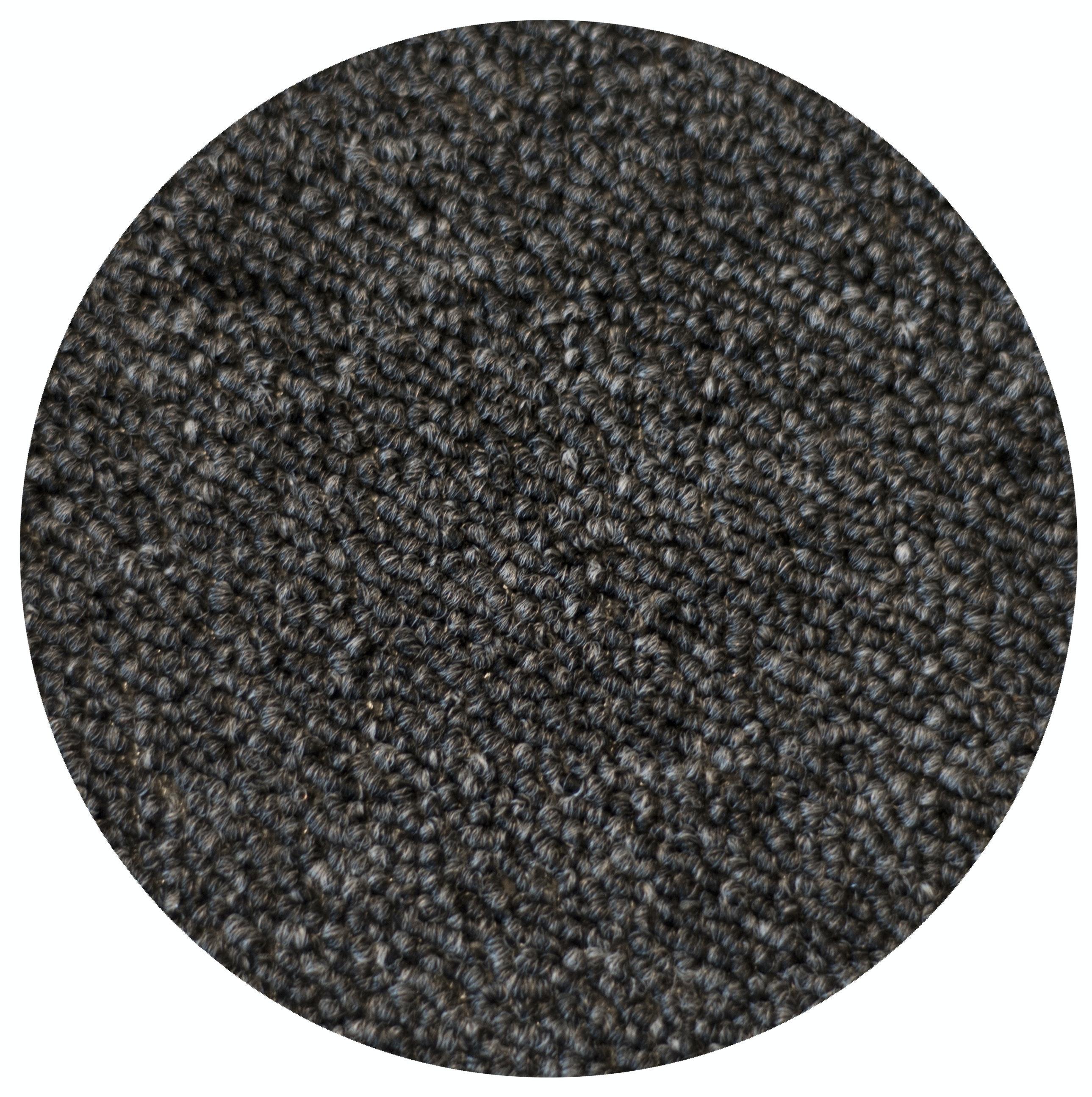 Textilgolv Heltäckningsmatta Fibertrone Basic 10m², Antracit 94