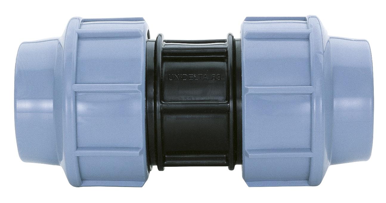 Pemkoppling GG Carat Rak 16mm Plast 61000