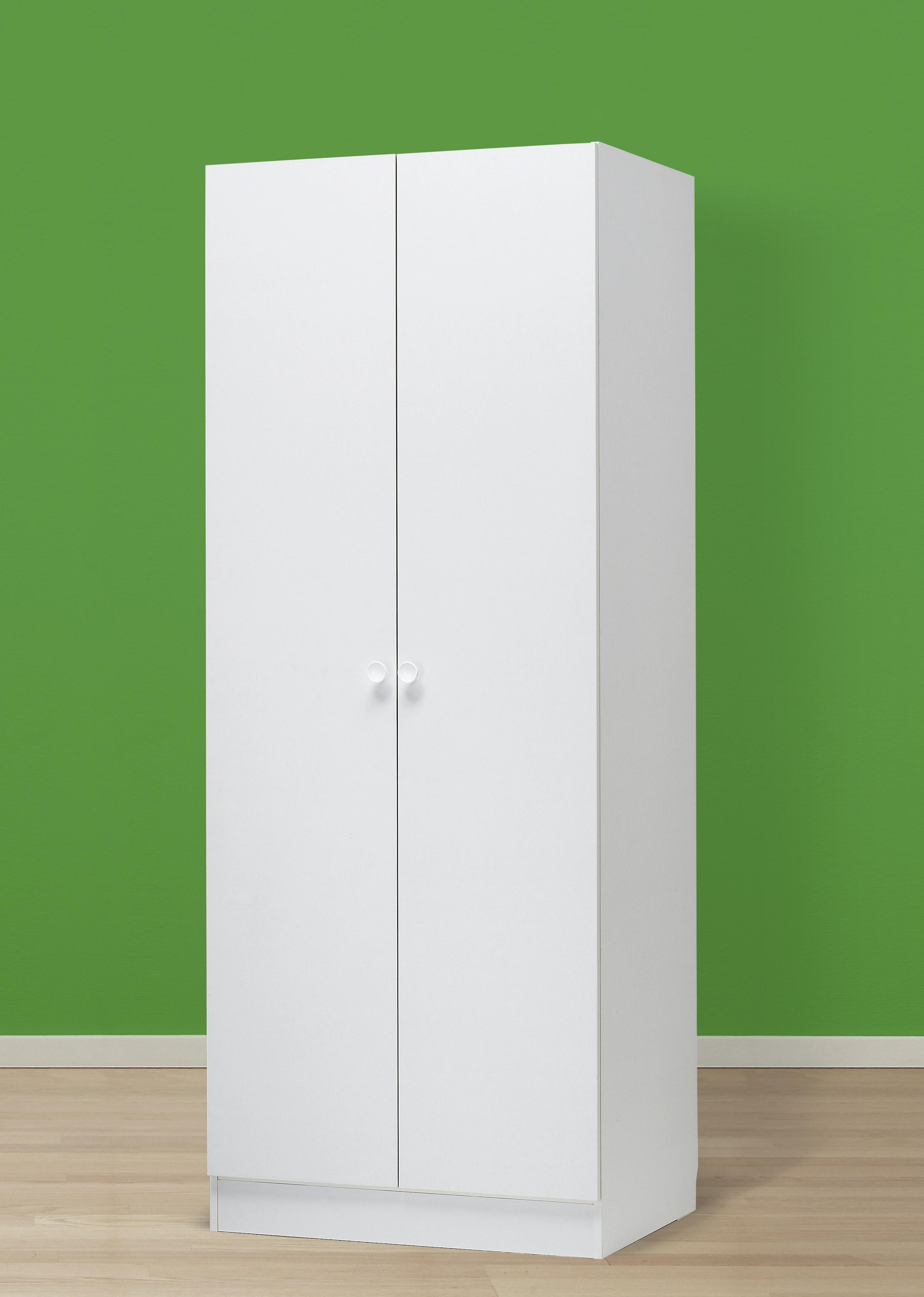 Garderob Nobia Vit 80x60x206