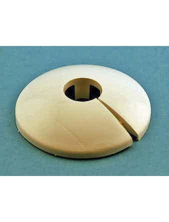 Rörtäckbricka GG Carat Vit 15mm 4-Pack 3842028