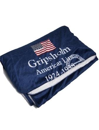 Pläd Gripsholm Americanline 130X170 Marinblå 909346
