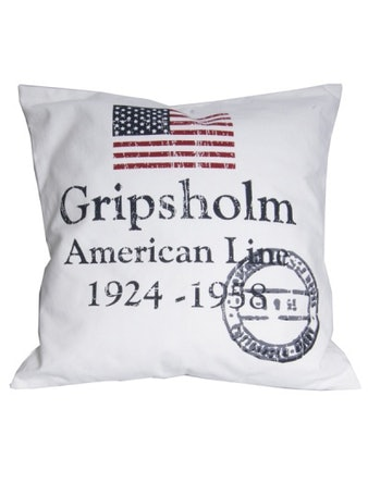 Kuddfodral Gripsholm Americanline 50X50cm Vit 967710