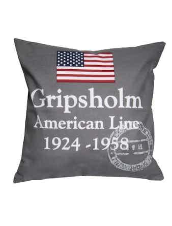 Kuddfodral Gripsholm Americanline 50X50cm Grå 967720